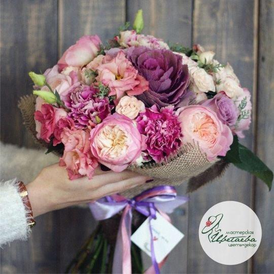 Букет из экзотических цветов «Патриция»