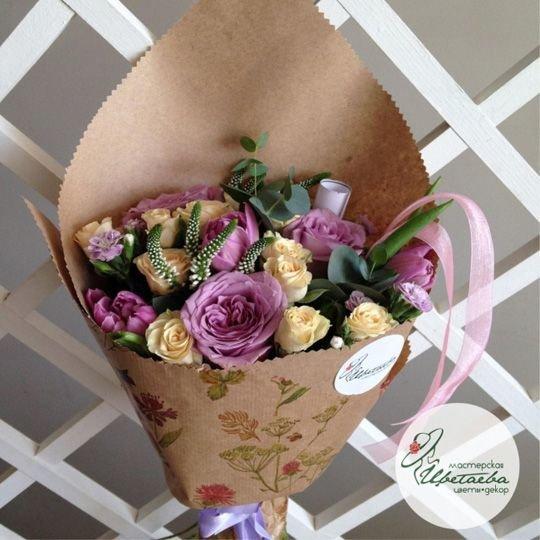 Букет «Комплимент» из роз