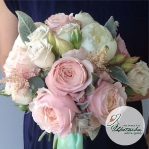 Нежный букет невесты c доставкой в Томске