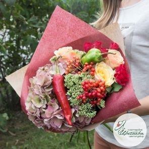 Букет учителю «Встреча в сентябре» c доставкой в Томске