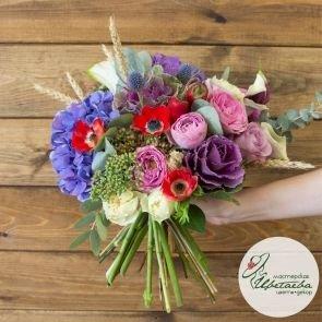 Букет «Цветочный драйв»