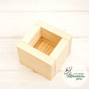 Куб из дерева