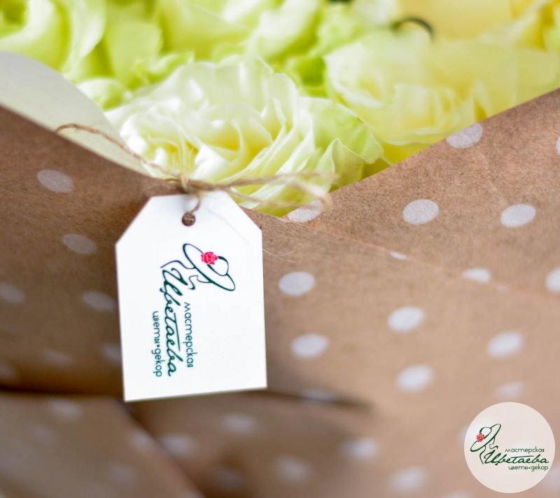 букет из 9 белых роз макро