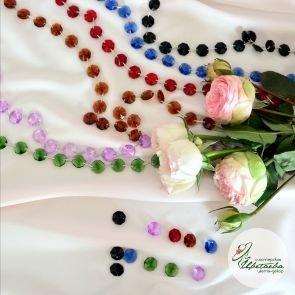 Стеклярус цветной