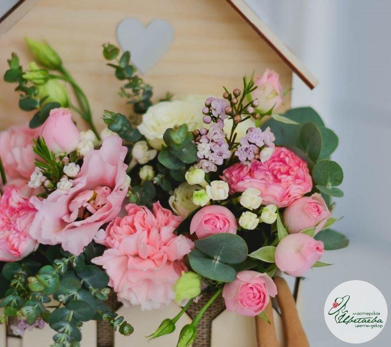 детали цветочного домика