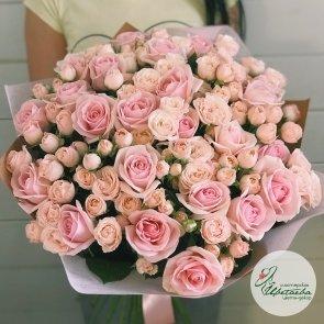 Букет «Изобилие роз»