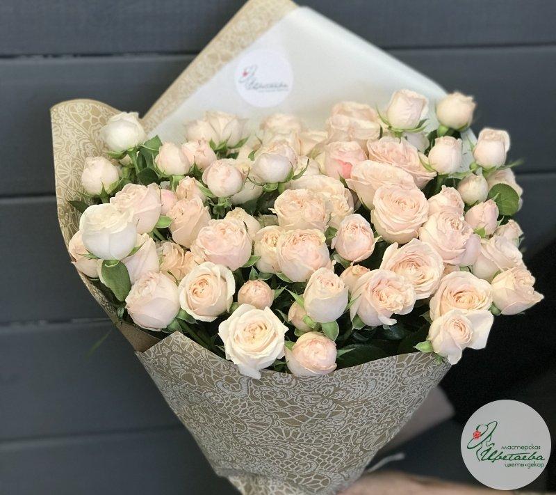 букет из сортовых роз