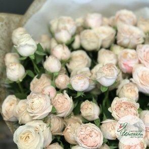 макро букетик из роз Бомбастик
