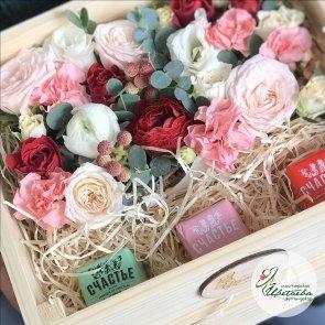 «Яркая весна» с конфетами Счастье Спб