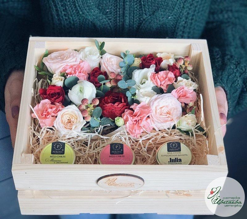 «Яркая весна» с мёдом-суфле Peroni