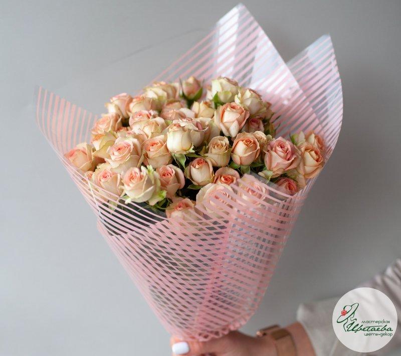 10 кустовых роз