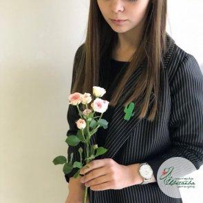 Кустовая роза - 60 см