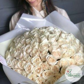 Букет из 101 розы 70 см c доставкой в Томске