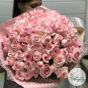 Букет из 101 розы 90 см c доставкой в Томске
