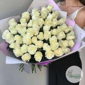 51 голландская роза c доставкой в Томске