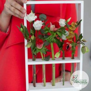 Композиция цветочный сад c доставкой в Томске