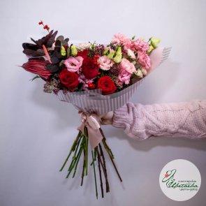 Букет для мамы с любовью, средний