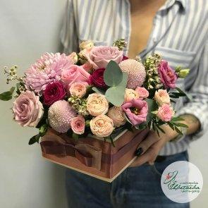 Дополнительные фотографии к товару - Подарочная композиция из цветов