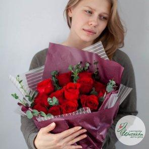 Букет роз «С 23 февраля»