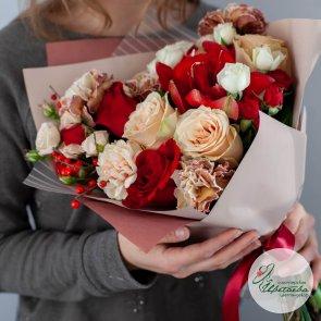 Букет цветов для папы на 23 февраля