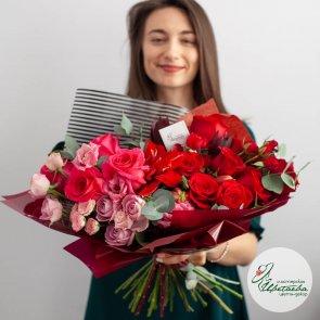 Букет цветов начальнику на 23 февраля