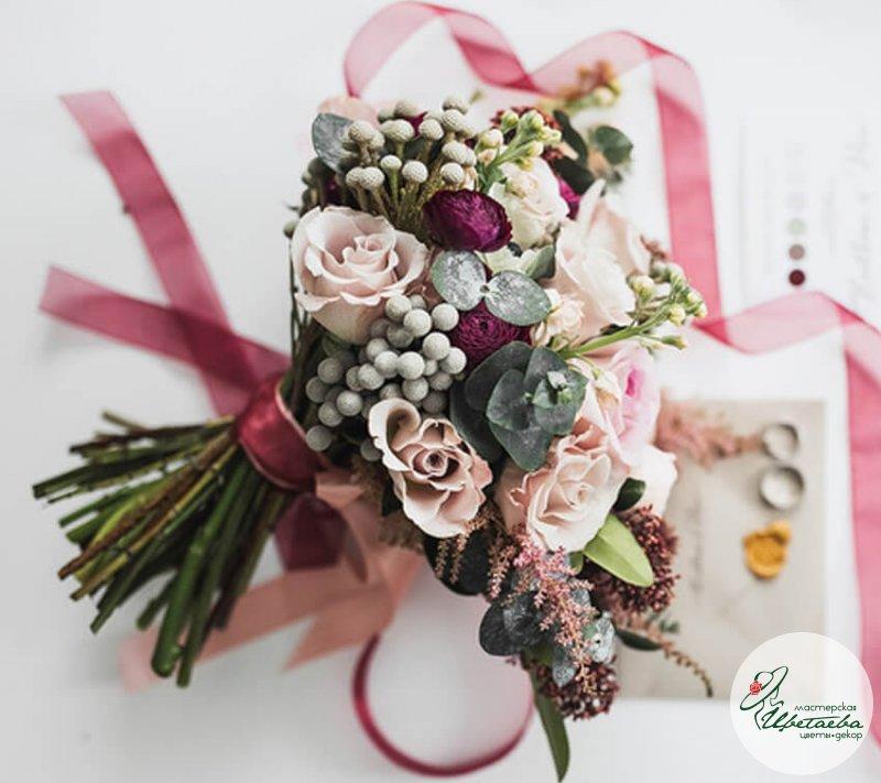 Букет невесты без портбукетницы