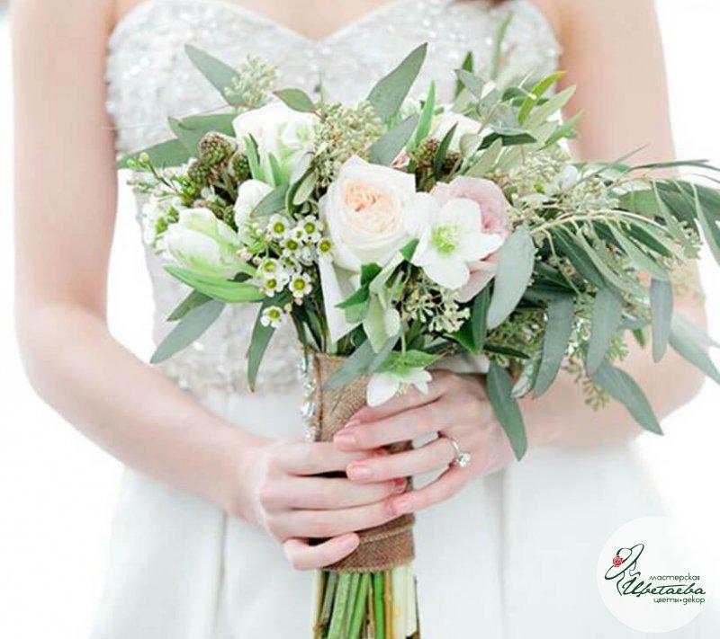 Букет невесты «Зелень»