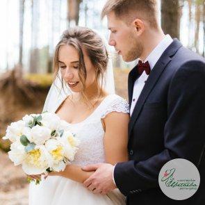 Легкий букет невесты