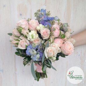 Букет невесты «Пудра»