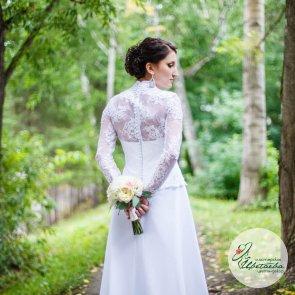 Букет невесты «Пионовидный»
